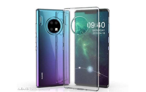 У Мережі розкрили зовнішній вигляд Huawei Mate 30