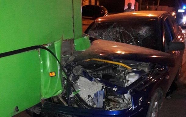 У Харкові п ять осіб постраждали в ДТП з автобусом