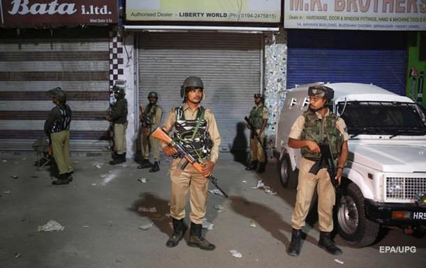 У ліквідованому штаті Кашмір заарештували півтисячі людей