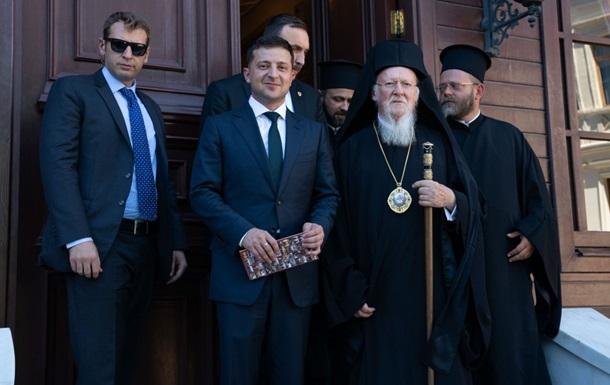 Зеленский рассказал о встрече с Варфоломеем