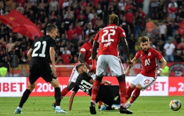 Заря добилась выездной ничьи с ЦСКА в Лиге Европы