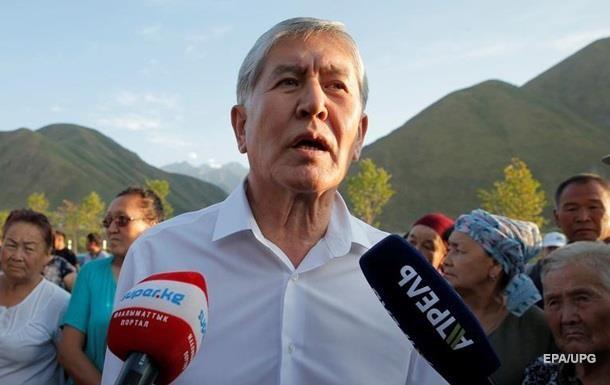 З явилося відео затримання екс-президента Киргизії