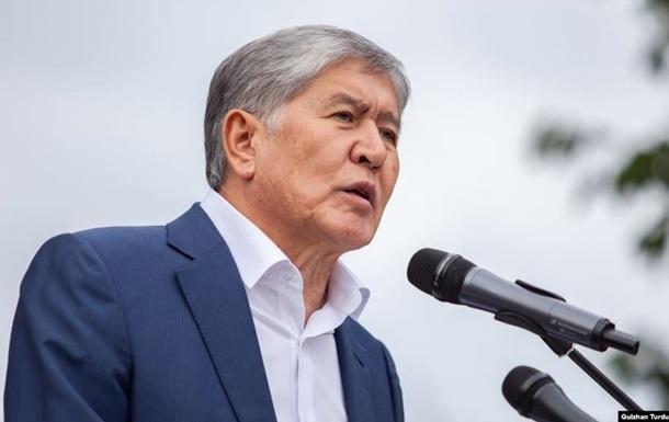Екс-президента Киргизстану помістили в СІЗО