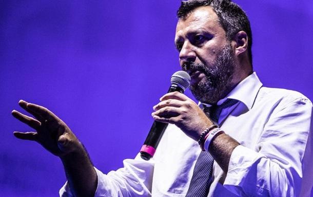 Віцепрем єр Італії Сальвіні виступив за дочасні вибори