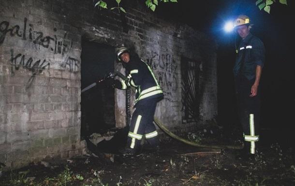 В Киеве заживо сгорел человек