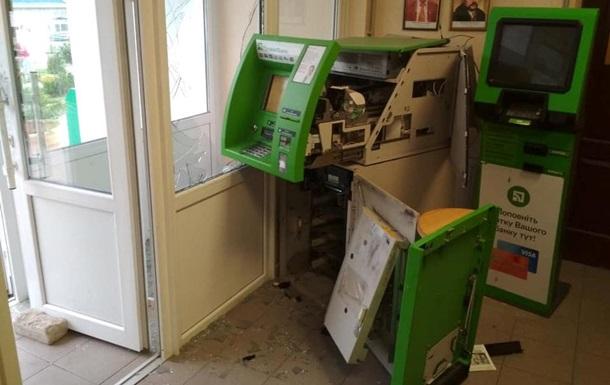 В селе Днепропетровской области взорвали единственный банкомат