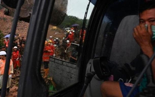 Жертвами оползня в Мьянме стали более 40 человек