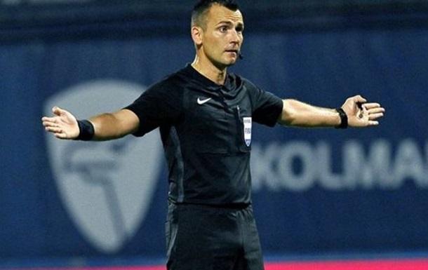 Динамо і Брюгге в Лізі чемпіонів розсудять арбітри з Хорватії