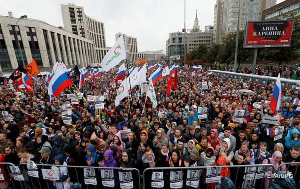 У Росії вимагають заборонити рекламу акцій протесту на YouTube