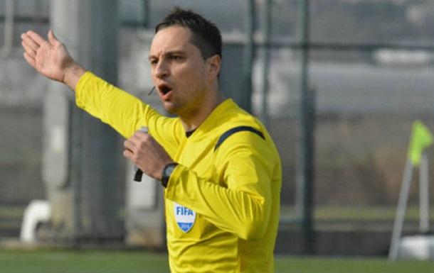 Український арбітр Балакін отримав призначення на матч Ліги Європи