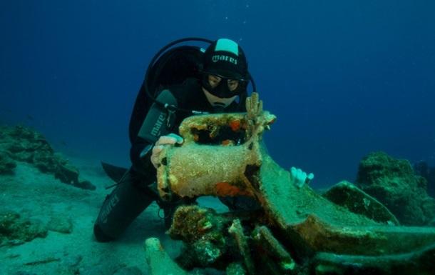 Археологи знайшли якір величезного корабля древніх греків