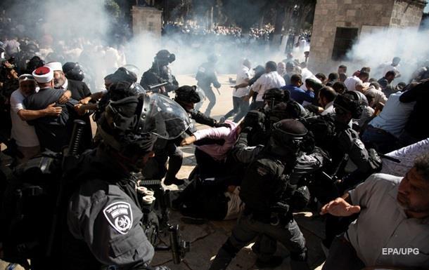 У Єрусалимі через заворушення постраждали понад 60 осіб