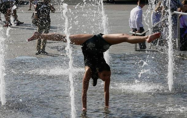 Погода в Украине: жара, местами дожди