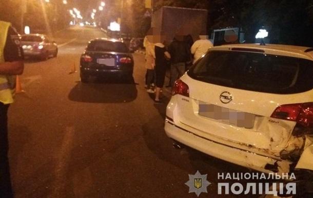 В Харькове погоня закончилась массовым ДТП