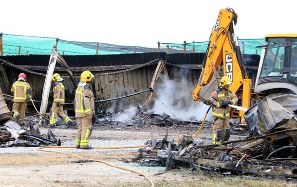 От удара молнии сгорели 40 домов на колесах