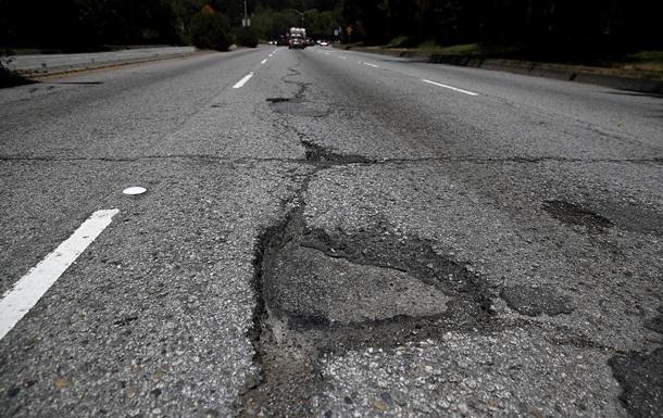 Укравтодор дав вартість ремонту доріг за 5 років