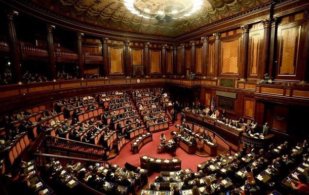 Сенат Італії відклав рішення щодо вотуму недовіри уряду