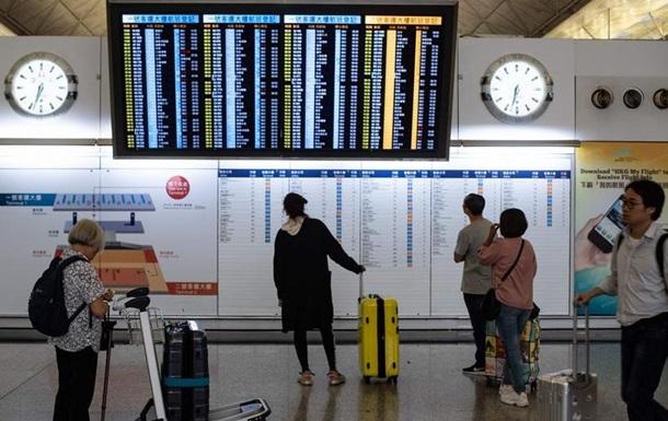 Аеропорт Гонконгу відновив роботу після протестів