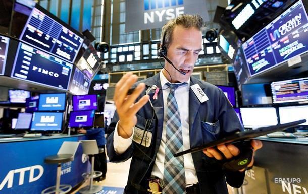 Фондові індекси США різко впали