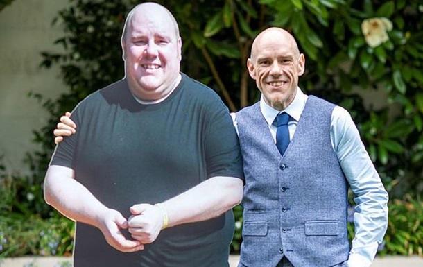 Британец похудел почти вдвое из-за несбывшейся мечты