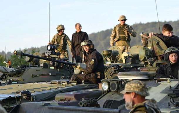 Украинские военные участвуют в учениях НАТО в Германии