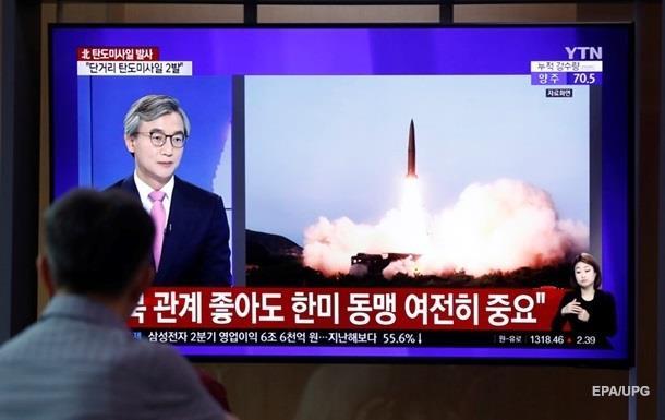 КНДР провела запуск двох невпізнаних снарядів