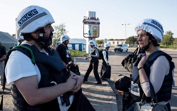 Количество нарушений перемирия на Донбассе уменьшилось - ОБСЕ