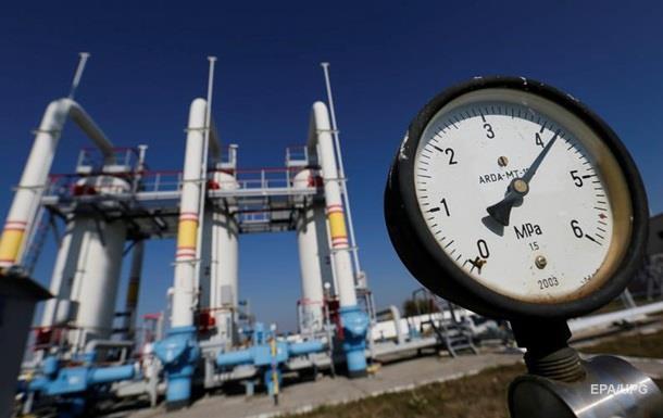 Україна накопичила 17 мільярдів кубів газу