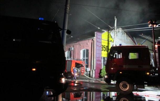 Пожежа в Одесі: з явилися фото і відео