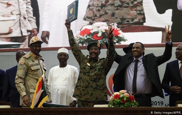 У Судані підписали договір про розподіл влади