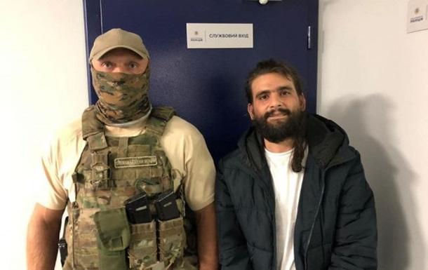 Появилось видео побега наркоторговца от СБУ