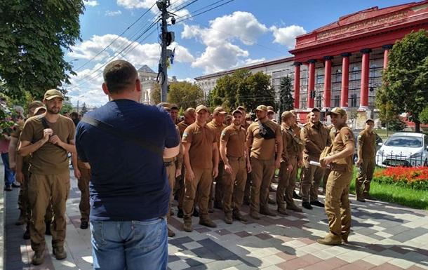 В Киеве прошла репетиция Марша защитников