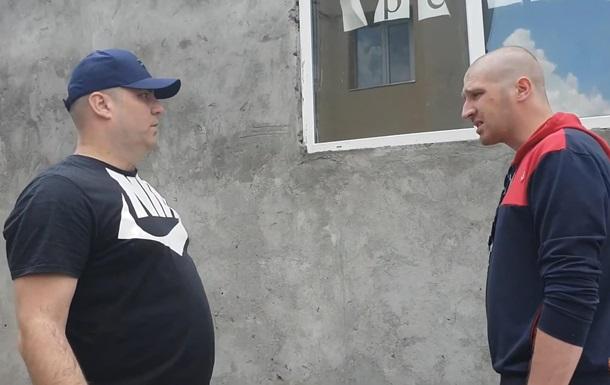 Суд арестовал мужчину за избиение ветерана АТО
