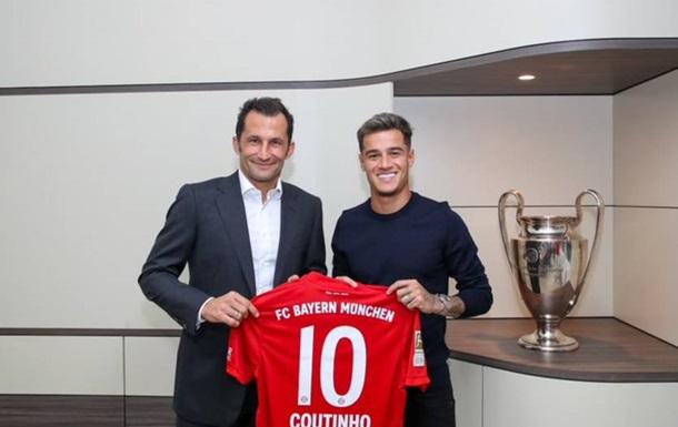 Барселона та Баварія підтвердили трансфер Коутінью