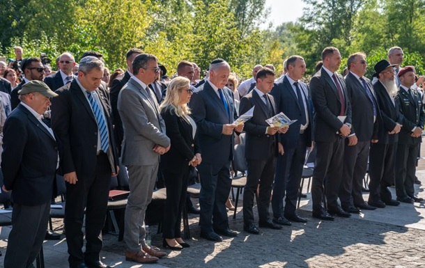 Зеленский и Нетаньяху посетили Бабий Яр