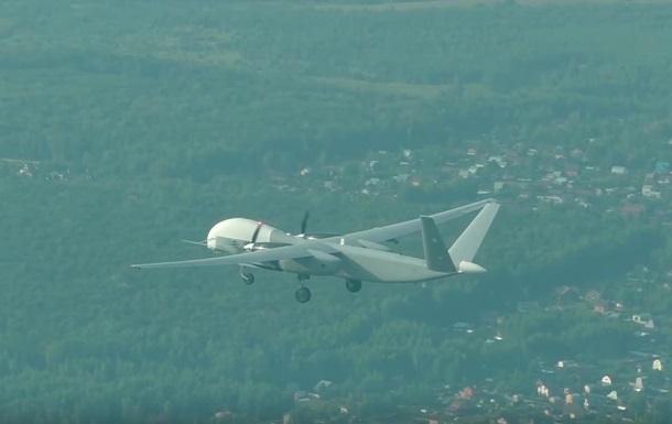 В РФ показали первый полет тяжелого дрона Альтиус