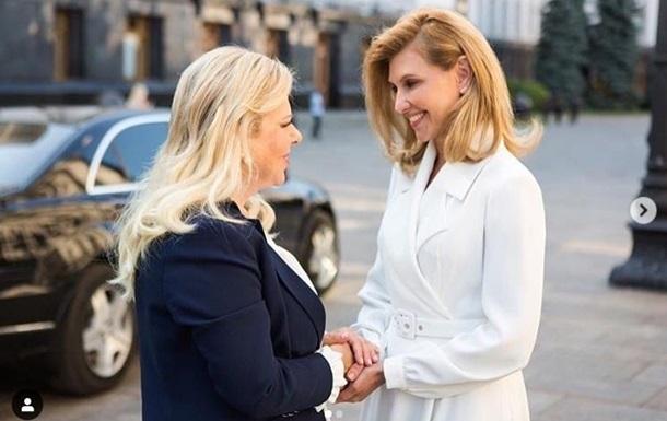 Олена Зеленська розповіла про перший прийом високої гості