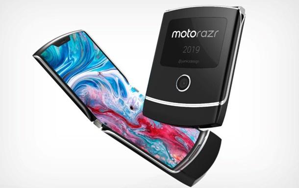 Раскрыты детали о  гибкой раскладушке  Motorola