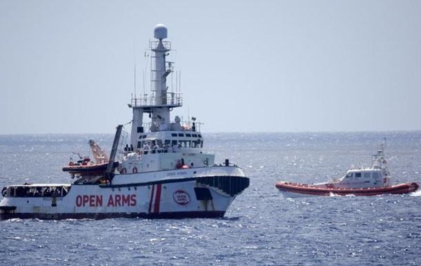 Суд у Сицилії вирішив прийняти мігрантів з Open Arms