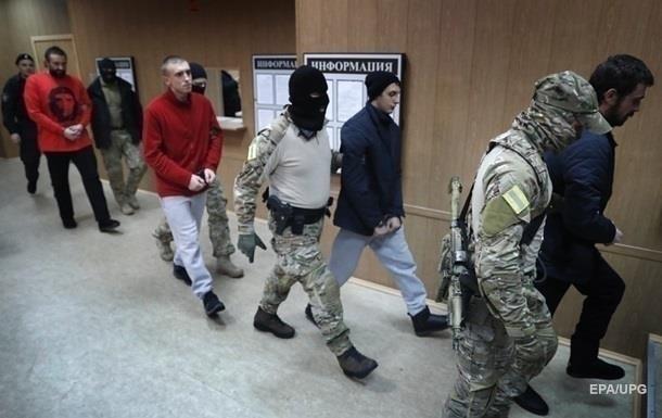 Суд РФ залишив українських моряків у СІЗО