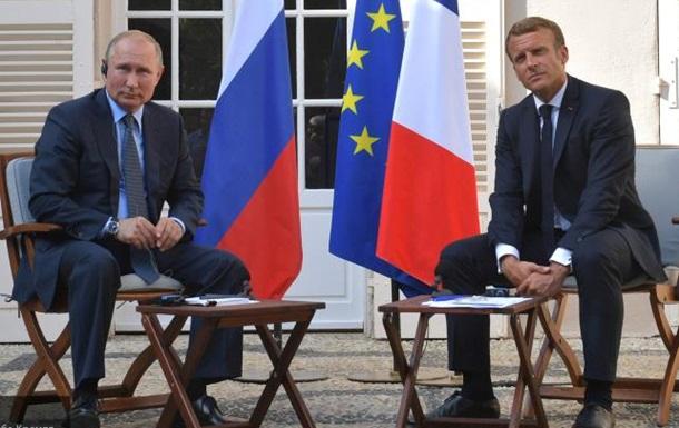 Франция заигрывает с Путиным