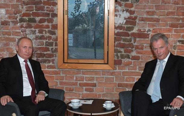 Путин обсудил Украину с президентом Финляндии