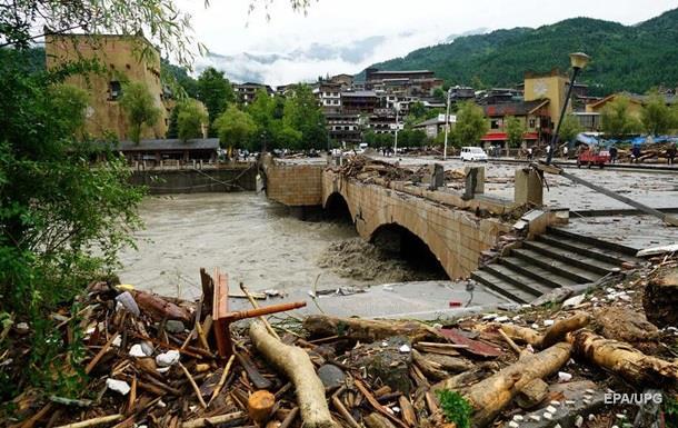 В Китае девять человек погибли из-за оползней
