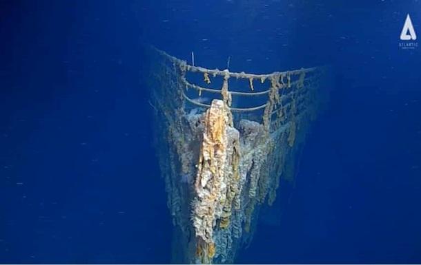 Титанік показали через 107 років після катастрофи