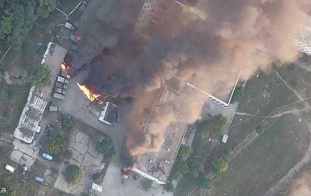 Волонтер показав знищення бази сепаратистів