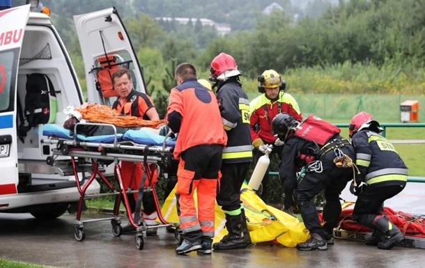 У Польщі блискавка вбила чотирьох туристів