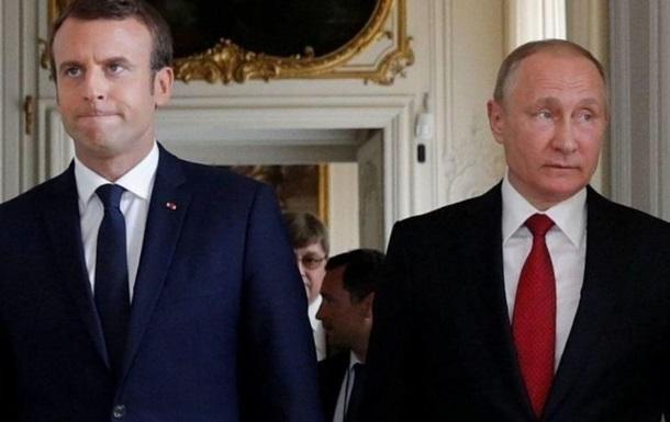 Макрон-Путин: урегулирование проблемы Донбасса и Крыма и угрозы для России