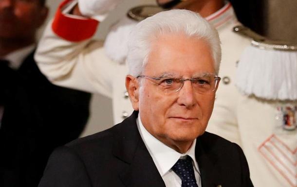 Президент Італії дав партіям більше часу для виходу з кризи