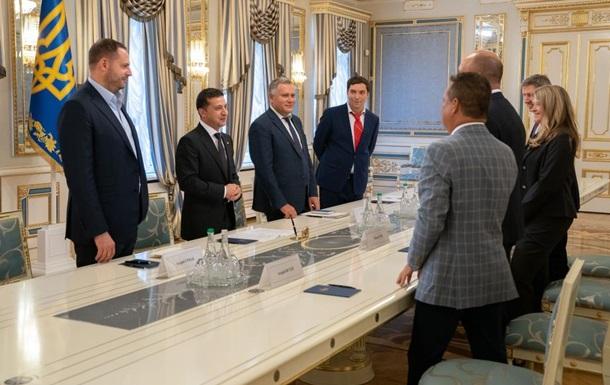Зеленський зустрівся з керівництвом Світового конгресу українців