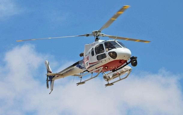 В Индии разбился вертолет